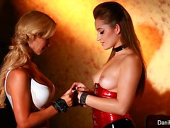 Cherie DeVille gets dominated by Dani Daniels