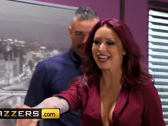 Big Tits at Work - Monique Alexander Charles Dera