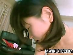 Makoto Kamo - Innocent Japan Teen First Time Sex