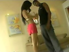 Teen Hooker Giving A Blowjob BVR