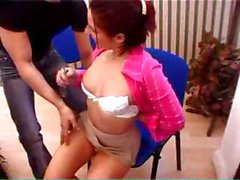 Secretary Gets Slammed In The Office