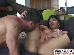 Depressed Step-Mother Mercedes Carrera In Stockings