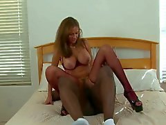 Cuckold wife fuck black lover