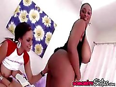 Ebony Shyla And Carmen Lezzies