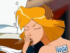 Totally Spies Porn Totalmente slut Clover