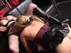 Hunk Paul Chaplin bangs babes Tyler Faith and Foxy and...