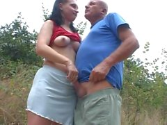 Teen used by old men and pissed on