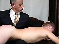 Otk spanking slut in rope bondage tmb