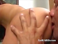 Cock sucking & ass licking action