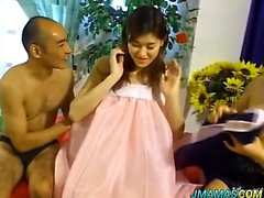 Ann Asian babe gets camera insertion to see her tight hole