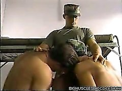 Army Muscle Men Banging