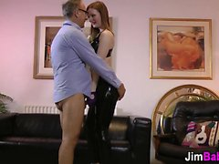 Latex ginger jizz old man