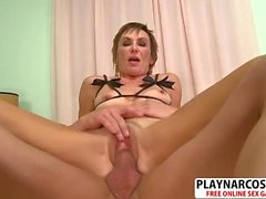 Charm Not Mom Lillian Tesh Gets Fucked Hard Young Step son