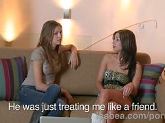 Lesbea HD Roommate has virgin lesbian sex with experienced BFF