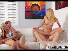 Family Game Night Orgy HD