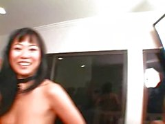 Orgy: (Pt. 2) 5 Asian Sluts vs. 5 BBCs