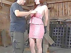 Slave acquires her beaver punished from mastix