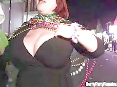 Nasty fat bitch gets horny showing off part6