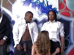 Remy Lacroix gets bukkaked by black men