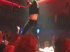 horny girls at male strippers party