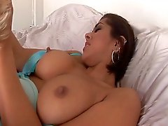 Super hot Latina blows his mind and takes GREAT facial