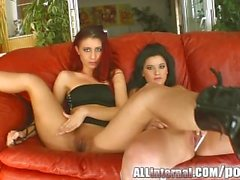 Foursome with 2 hot teens