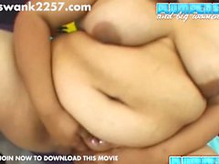 Lori's big soft floppy tits shake and bounce as she is