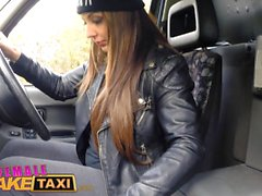 Female Fake Taxi Naughty chick fucks big black cock