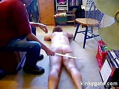 Spanking my Wife Emily all over her body