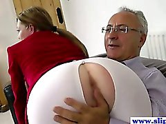 Giovane slut euro pussydrilled by anni uomo