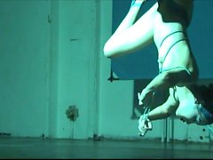 ballerina shibari self-bondage and suspension