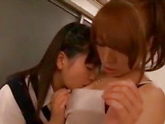 Forbidden horny teacher pupil Lesbian Sex in School in Japan