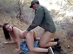 Female police officer lesbian Kayla West was caught lusty pa