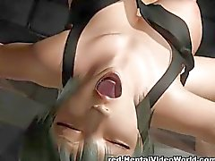 Chick with big boobs fucked in 3D