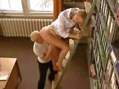 Blonde Tyra Misoux is a hot librarian who loves a good fuck