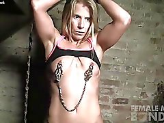 Blonde Claire is Detained in the Dungeon