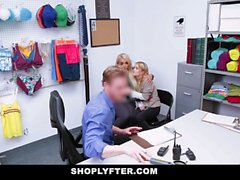 ShopLyfter Curvy Blonds Get Caught Stealing