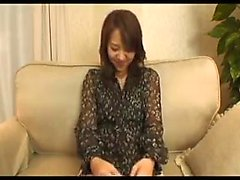 Marvelous Japanese girl in stockings has a boy kissing her