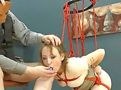 To much of rope and bewitching BDSM submissive sex