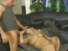 Blond German Milf gets fucked