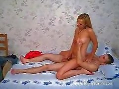 Sweet dolly drilled by her bf