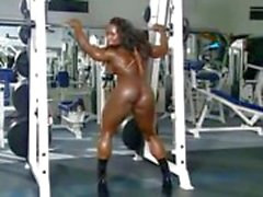 Black female muscles