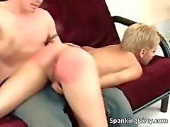 Hot and sexy blonde bitch gets ass