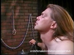 Useless Slave Tortured And Humiliated By His Mistress