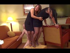 High Heel Trample By Ms Christina & Marcy