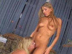 Blondes have WAY more fun! Two sweet young blondes know how to party!