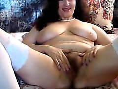Belle mature webcam corps sexy et coquine show pussy