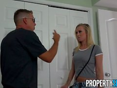 PropertySex - Scorching blonde cheats on BF with realtor