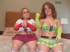 bea small and stella marie ballbusting