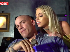 LETSDOEIT - Hot Strippers Fuck and Blackmail Their Boss